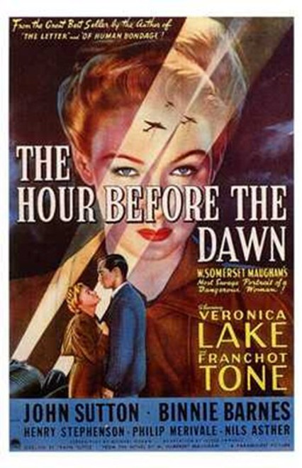 The Hour Before Dawn Movie Poster (11 x 17) - Item # MOV198713