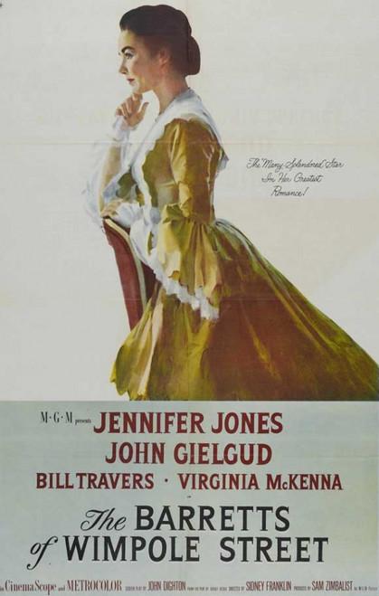 The Barretts of Wimpole Street Movie Poster Print (27 x 40) - Item # MOVIB14020