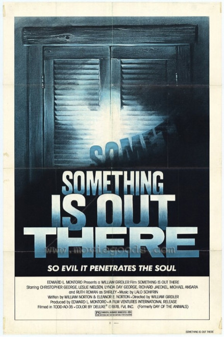 Something is Out There Movie Poster Print (27 x 40) - Item # MOVIH9620