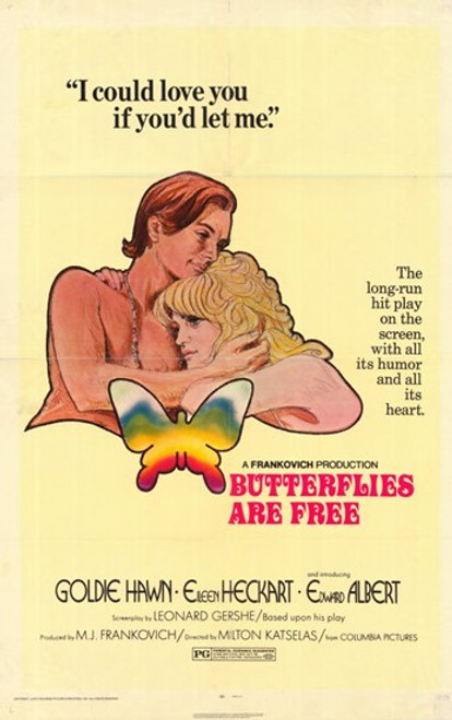 Butterflies Are Free Movie Poster (11 x 17) - Item # MOV232604