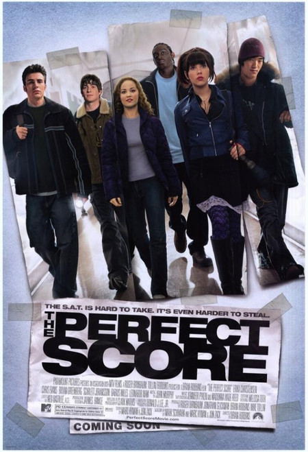 The Perfect Score Movie Poster Print (27 x 40) - Item # MOVEH3616