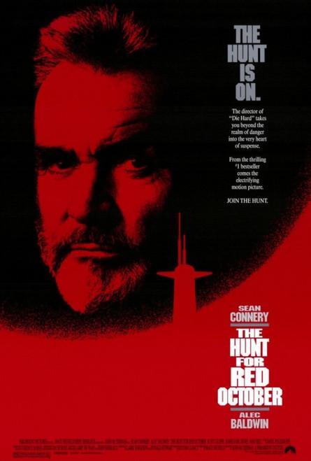 The Hunt for Red October Movie Poster Print (27 x 40) - Item # MOVAF8264
