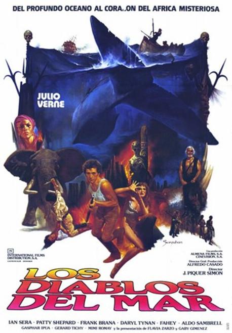 Sea Devils Movie Poster (11 x 17) - Item # MOV227688