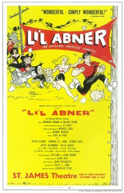 Li'l Abner (Broadway) Movie Poster (11 x 17) - Item # MOV407208