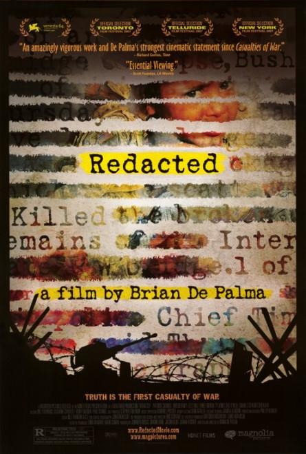 Redacted Movie Poster Print (27 x 40) - Item # MOVAI0122