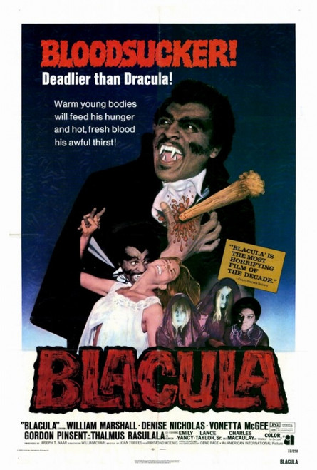 Blacula Movie Poster Print (27 x 40) - Item # MOVEF2416