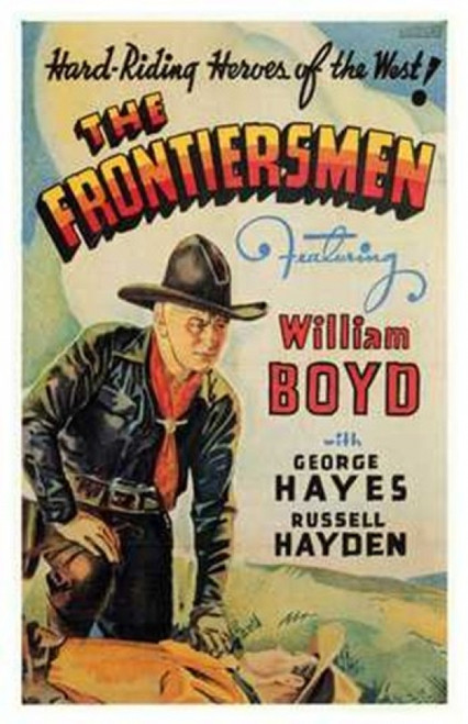 The Frontiersmen Movie Poster (11 x 17) - Item # MOV199903