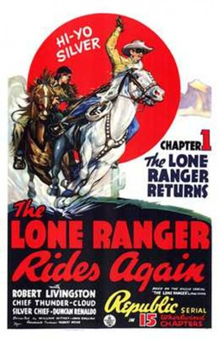 The Lone Ranger Rides Again Movie Poster (11 x 17) - Item # MOV143576