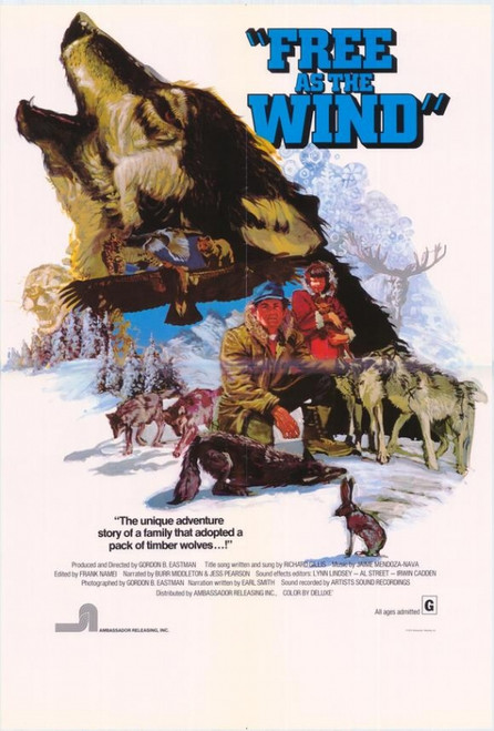 Free as the Wind Movie Poster Print (27 x 40) - Item # MOVIH5392
