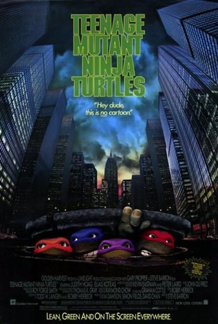 Teenage Mutant Ninja Turtles the Movie Movie Poster (11 x 17) - Item # MOV189738