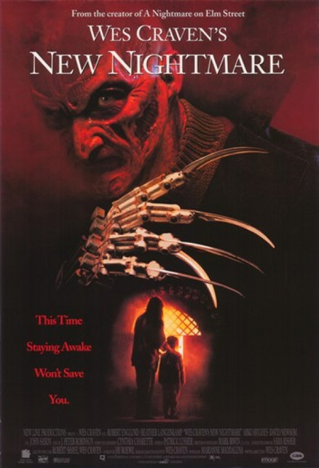 Wes Craven's New Nightmare Movie Poster (11 x 17) - Item # MOV399753
