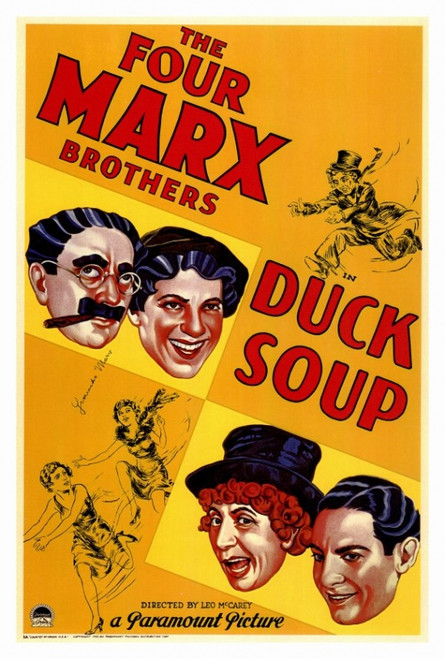 Duck Soup Movie Poster Print (27 x 40) - Item # MOVIF4178