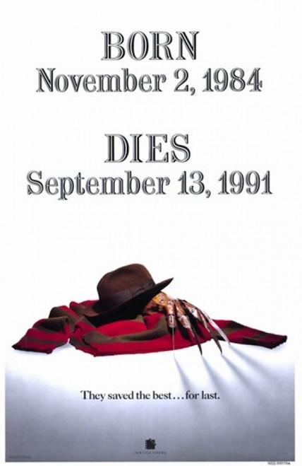 Freddy's Dead Final Nightmare Movie Poster (11 x 17) - Item # MOV196807