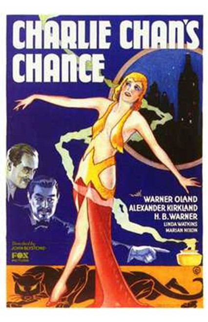 Charlie Chan's Chance Movie Poster (11 x 17) - Item # MOV199038
