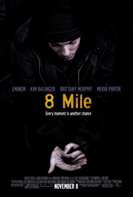 8 Mile Movie Poster Print (27 x 40) - Item # MOVEF8392
