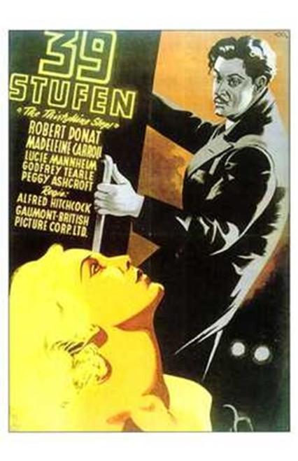 The 39 Steps Movie Poster (11 x 17) - Item # MOV212005