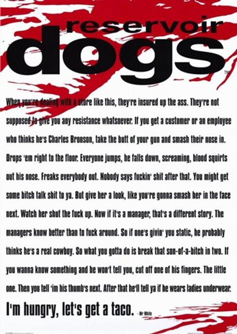 Reservoir Dogs Movie Poster (11 x 17) - Item # MOV216572