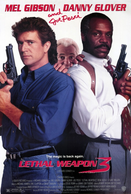 Lethal Weapon 3 Movie Poster Print (27 x 40) - Item # MOVEF9317
