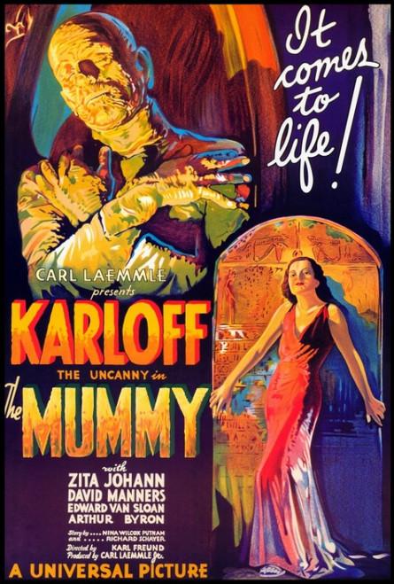 The Mummy Movie Poster Print (27 x 40) - Item # MOVIF9165