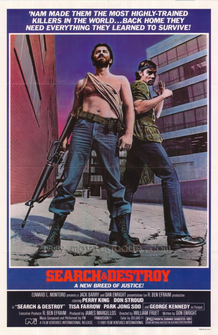 Search and Destroy Movie Poster Print (27 x 40) - Item # MOVCI9034
