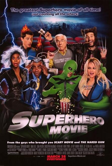 Superhero Movie Movie Poster (11 x 17) - Item # MOV408761