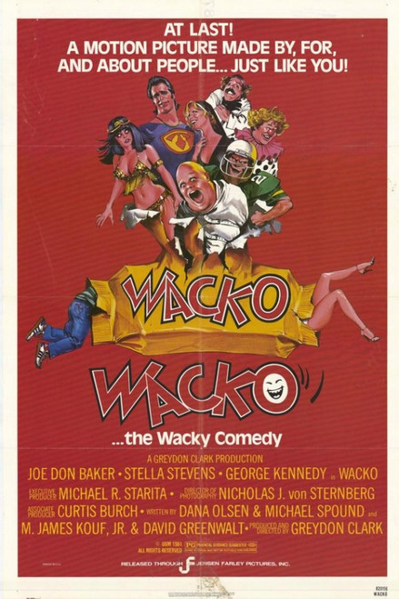 Wacko Movie Poster Print (27 x 40) - Item # MOVAH3722