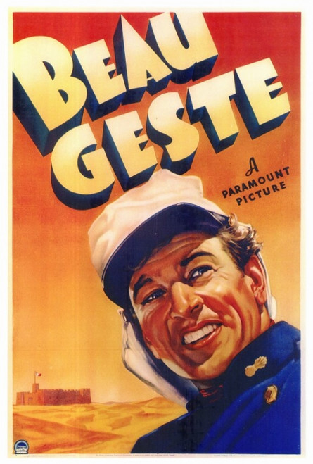 Beau Geste Movie Poster Print (27 x 40) - Item # MOVAF7174