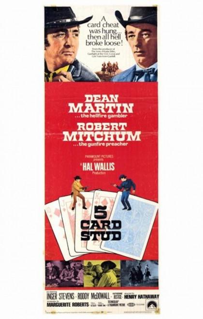 5 Card Stud Movie Poster (11 x 17) - Item # MOV243799