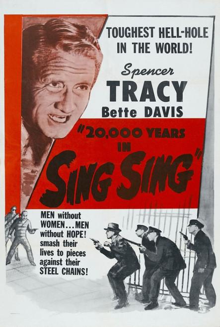 Twenty Thousand Years in Sing Sing Movie Poster Print (27 x 40) - Item # MOVEI4608