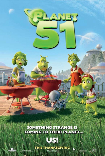 Planet 51 Movie Poster Print (27 x 40) - Item # MOVAJ0664
