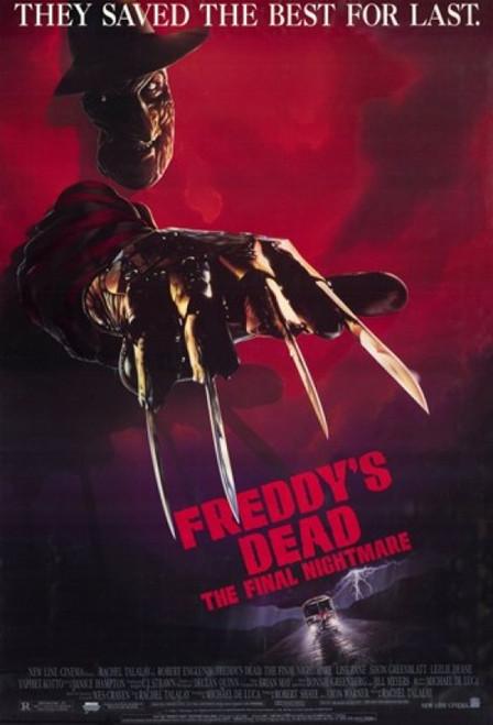 Freddy's Dead Final Nightmare Movie Poster (11 x 17) - Item # MOV193051