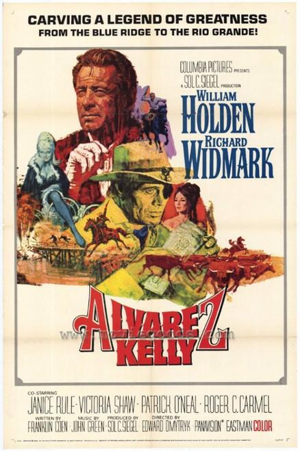 Alvarez Kelly Movie Poster Print (27 x 40) - Item # MOVCH5266
