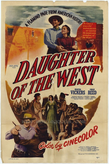 Daughter of the West Movie Poster Print (27 x 40) - Item # MOVEH1629