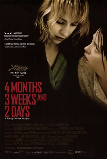 4 Months, 3 Weeks, and 2 Days Movie Poster (11 x 17) - Item # MOV405972