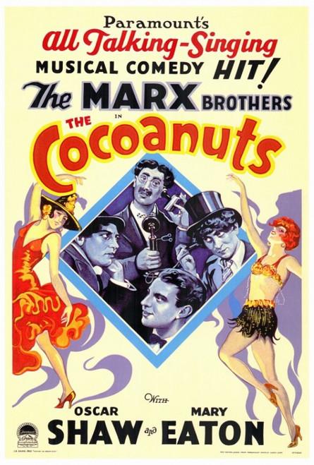 The Cocoanuts Movie Poster Print (27 x 40) - Item # MOVIF3179