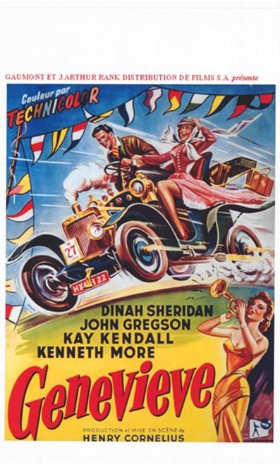 Genevieve Movie Poster (11 x 17) - Item # MOV412548