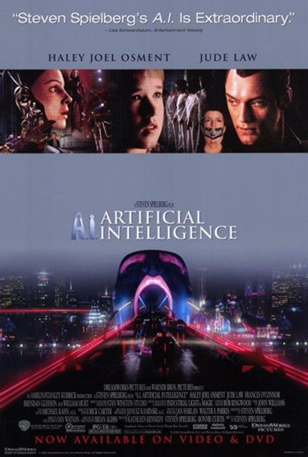 A. I. Artificial Intelligence Movie Poster (11 x 17) - Item # MOV197397
