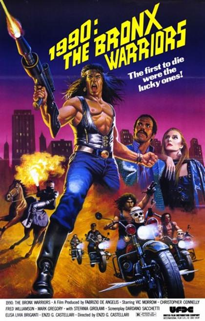 1990 the Bronx Warriors Movie Poster (11 x 17) - Item # MOV233142