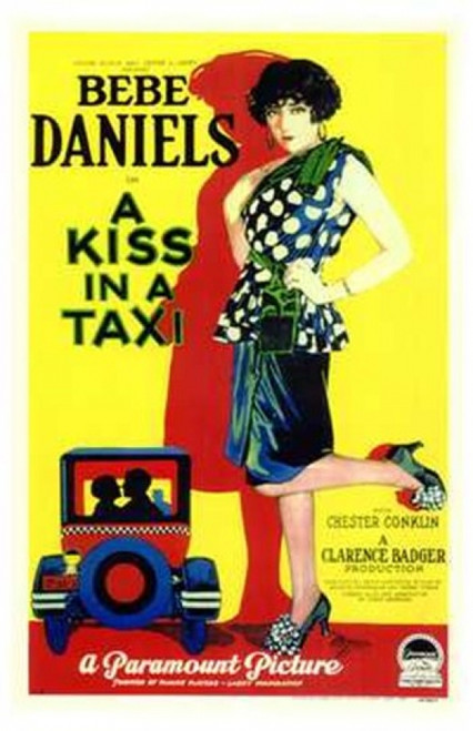 A Kiss in a Taxi Movie Poster (11 x 17) - Item # MOV143219