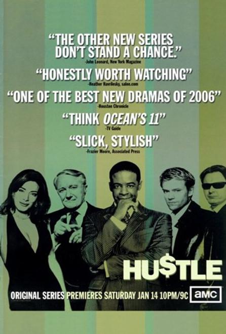 Hustle (TV) Movie Poster (11 x 17) - Item # MOV350479