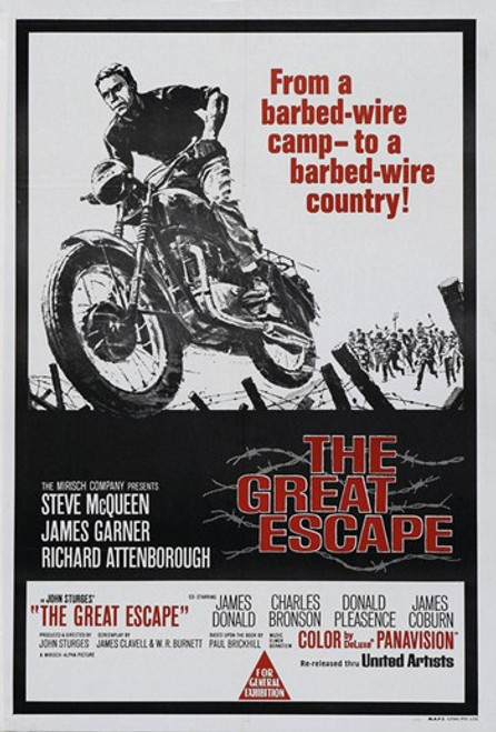 The Great Escape Movie Poster (11 x 17) - Item # MOV415948
