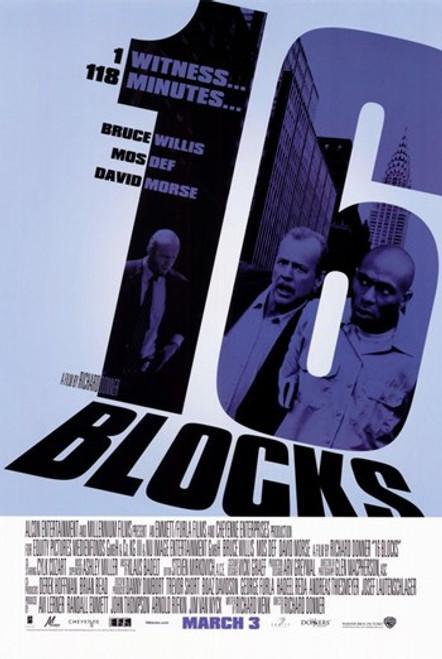 16 Blocks Movie Poster (11 x 17) - Item # MOV351979
