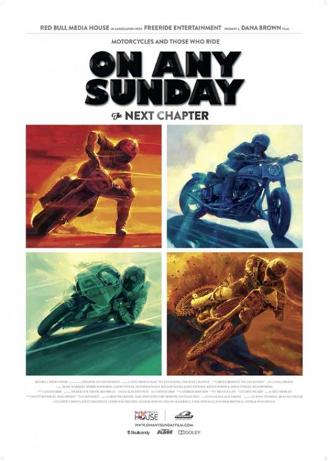 On Any Sunday, The Next Chapter Movie Poster Print (27 x 40) - Item # MOVIB55245