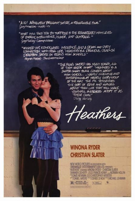 Heathers Movie Poster Print (27 x 40) - Item # MOVIF6287