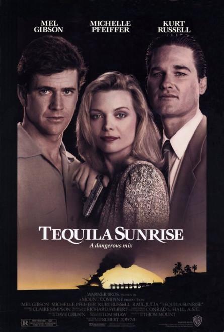 Tequila Sunrise Movie Poster Print (27 x 40) - Item # MOVEF8261