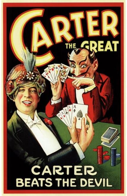 Carter Beats the Devil Movie Poster (11 x 17) - Item # MOV143061