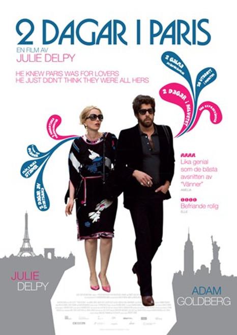 2 Days in Paris Movie Poster (11 x 17) - Item # MOV414390