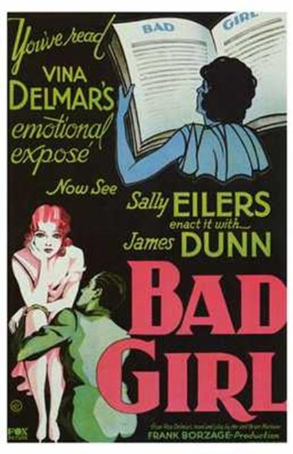Bad Girl Movie Poster (11 x 17) - Item # MOV257691