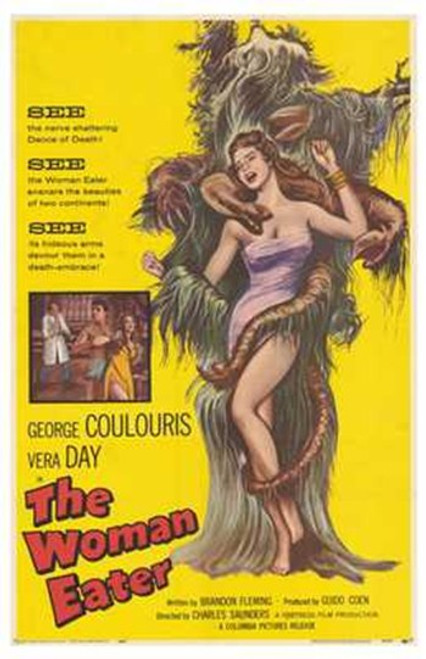 The Womaneater Movie Poster (11 x 17) - Item # MOV194614