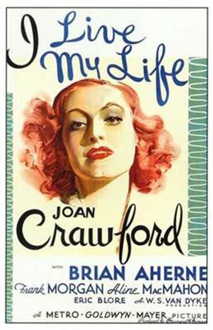 I Live My Life Movie Poster (11 x 17) - Item # MOV197551